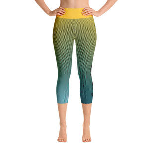 -Paradise- Yoga Capri Leggings