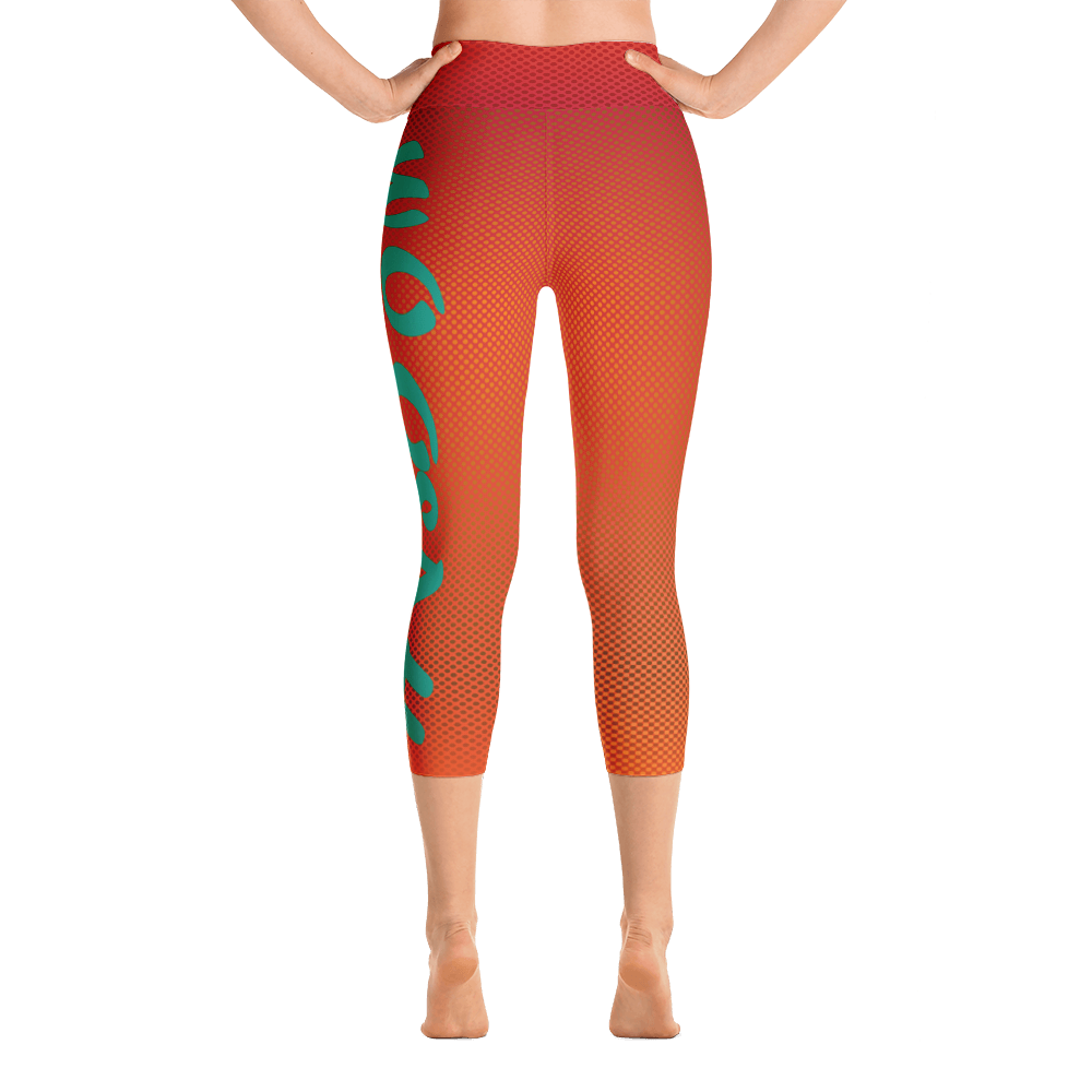 -Lava- Yoga Capri Leggings