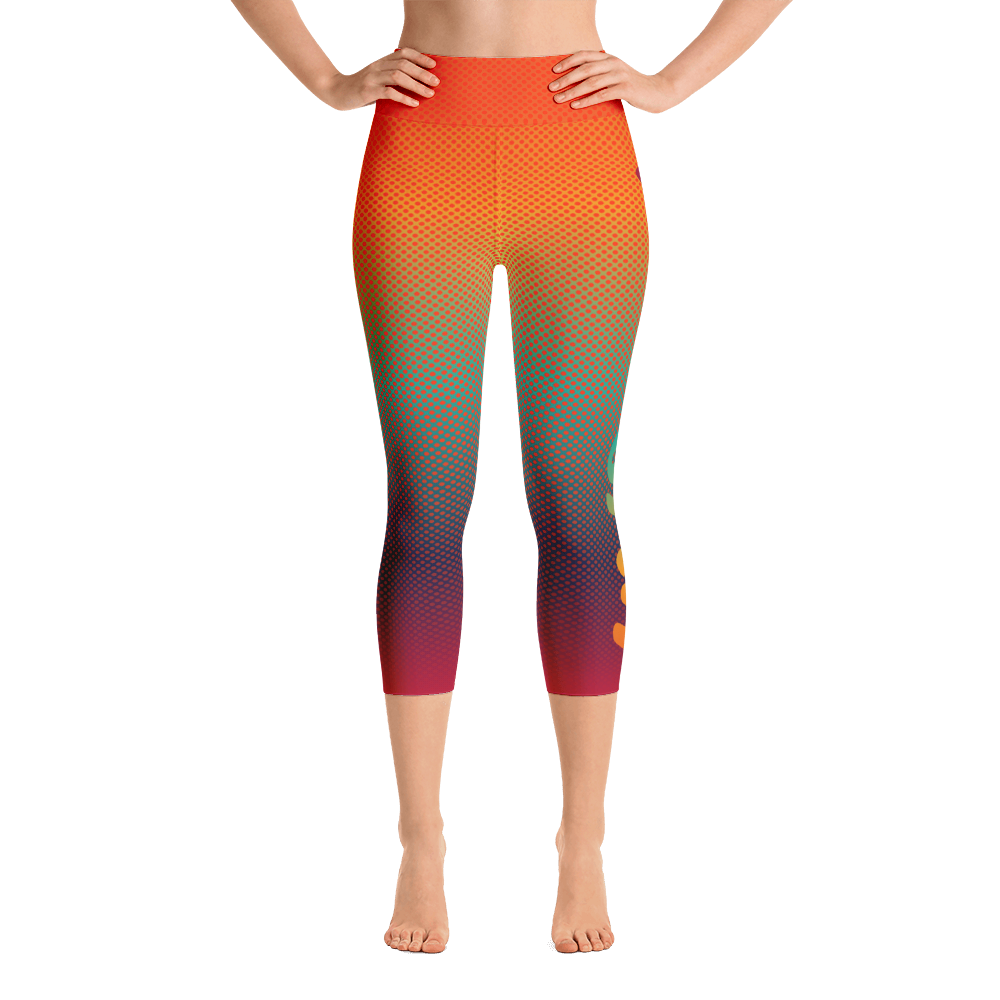 -Explore- Yoga Capri Leggings