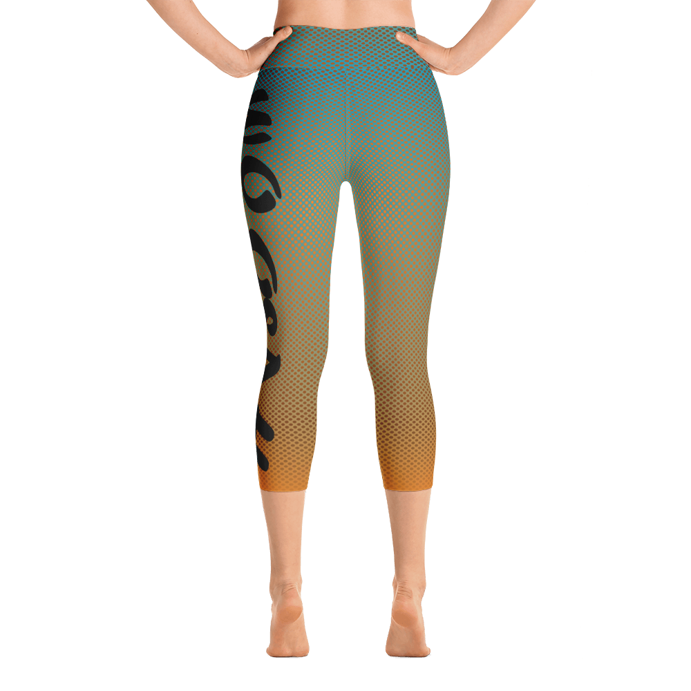 -Summer- Yoga Capri Leggings