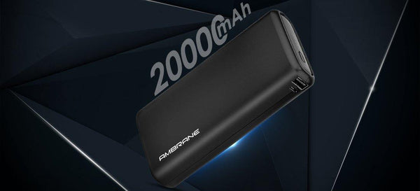 Power Bank - Neos 20000 mAh Lithium Polymer Power Bank - AmbraneIndia