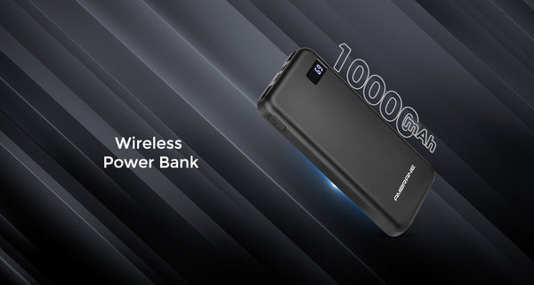 Ambrane India PW-18 Powerbank Wireless | Ambrane India - AmbraneIndia