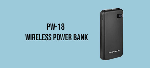 Wireless Charging PowerBank | AmbraneIndia - AmbraneIndia