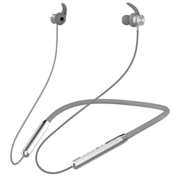 Ambrane Melody 11 Bluetooth Earphone (Silver) - AmbraneIndia
