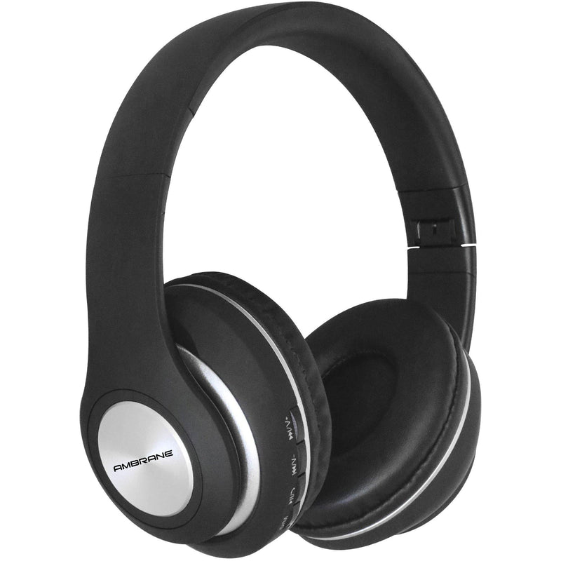 WH-83 Over The Ear Bluetooth Headphones with Wireless FM, Aux & SD Card Support (Black)