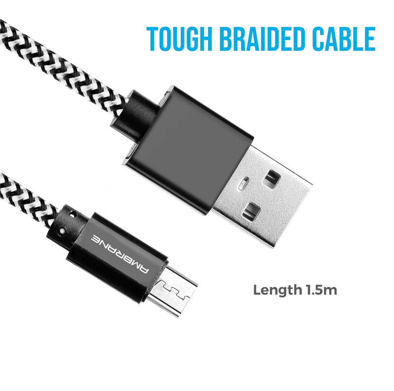 Ambrane Braided Cable - ABCM-15