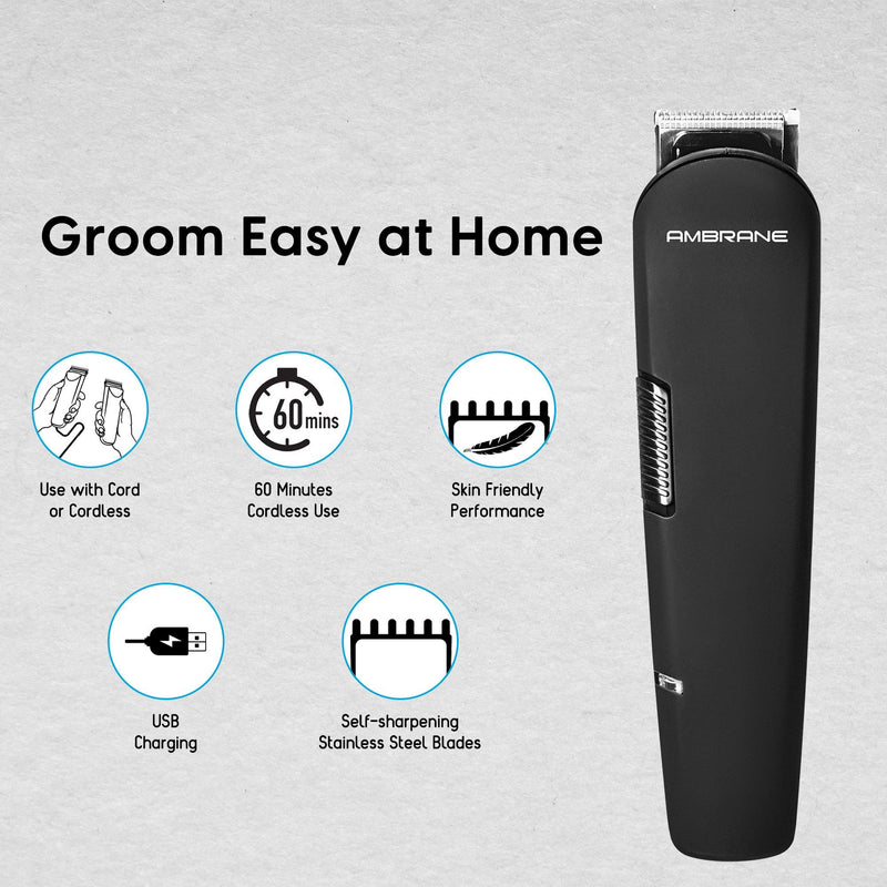 Ambrane Cruiser Mini - Multi-Purpose Grooming Kit - AmbraneIndia