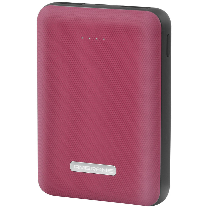PP-12 10,000 mAh Power Bank (Red)