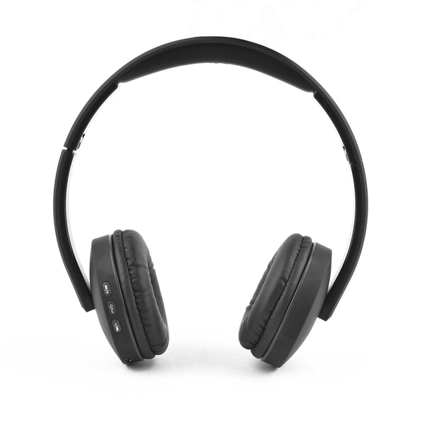 WH-5600 Bluetooth Headphones with Mic  (Black, Over the Ear) - AmbraneIndia
