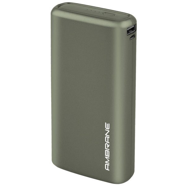 Neos 20000 mAh Lithium Polymer Power Bank (Midnight Green) - AmbraneIndia