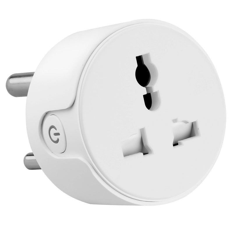 Ambrane WiFi Smart Plug 10A - Control Your Devices from Anywhere, No Hub Required, Works with Amazon Alexa and Google Assistant (ASP-10, White)