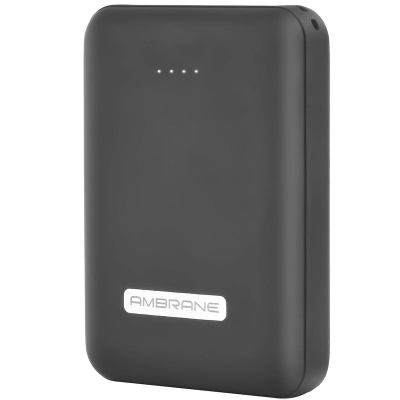 PP-12 10,000 mAh Power Bank (Black) - AmbraneIndia