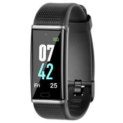 AFB-38 Smart Fitness Band with Color Display & Heart Rate Monitor (Black) - Ambrane India Pvt Ltd