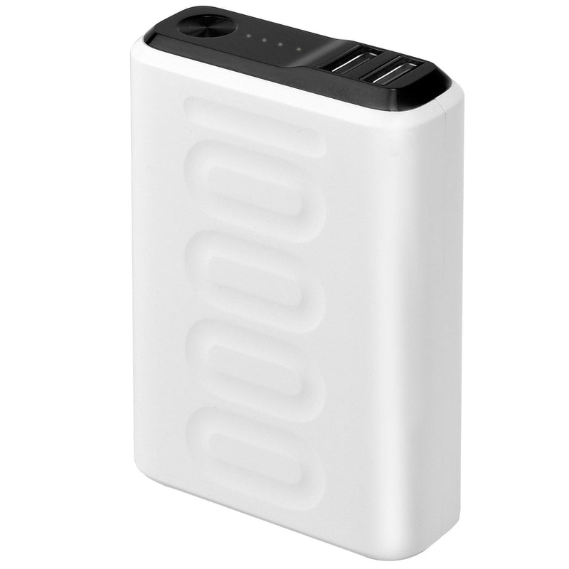 Ambrane Stylo 10k (PP-102) 10000 mAh Power Bank (White)