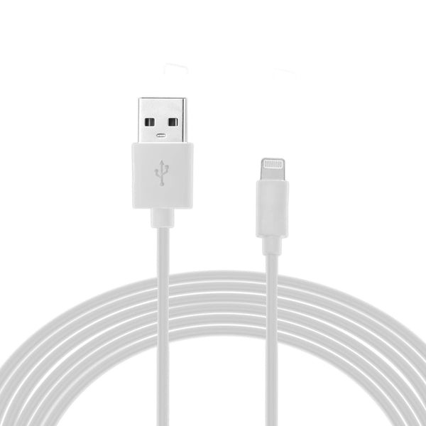AMC-11 MFI Certified iPhone Lightning Cable - 1 Meter (White)