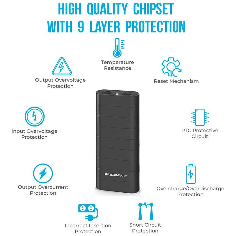 Knockout K6 (20100mAh) Power Bank Black