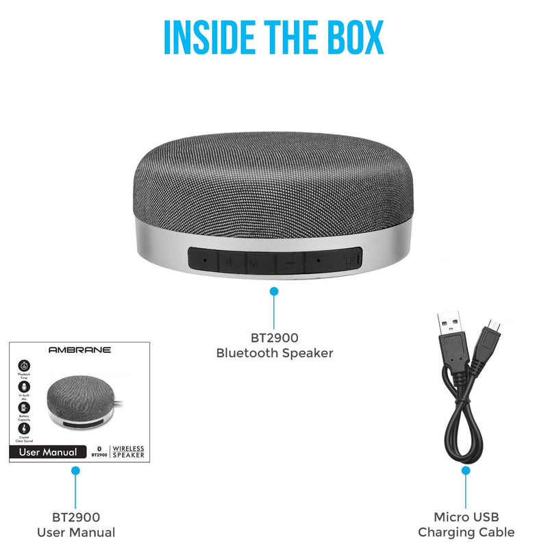 bluetooth speaker with fm radio