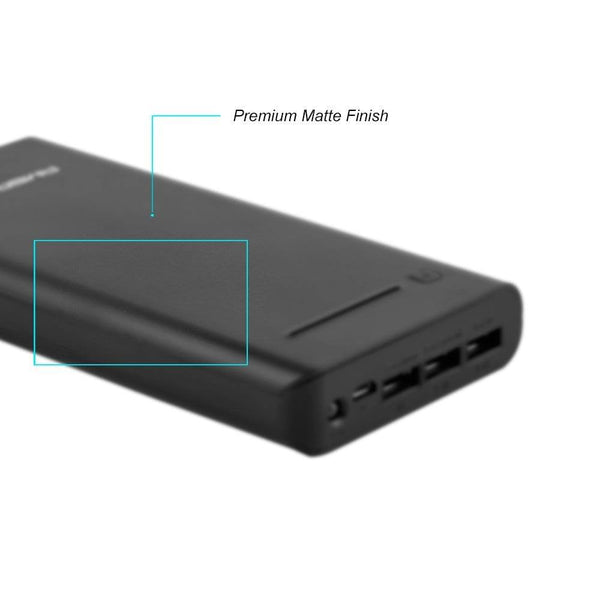 P-2000 20800mAH Power Bank (Black)