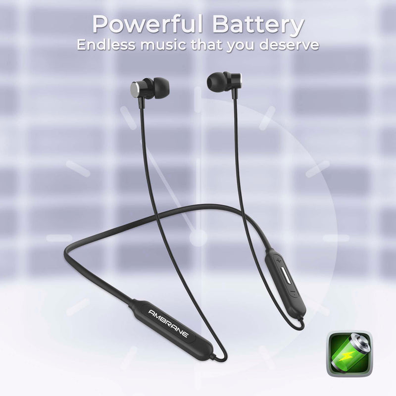Ambrane Wave - Neckband Earphone - AmbraneIndia