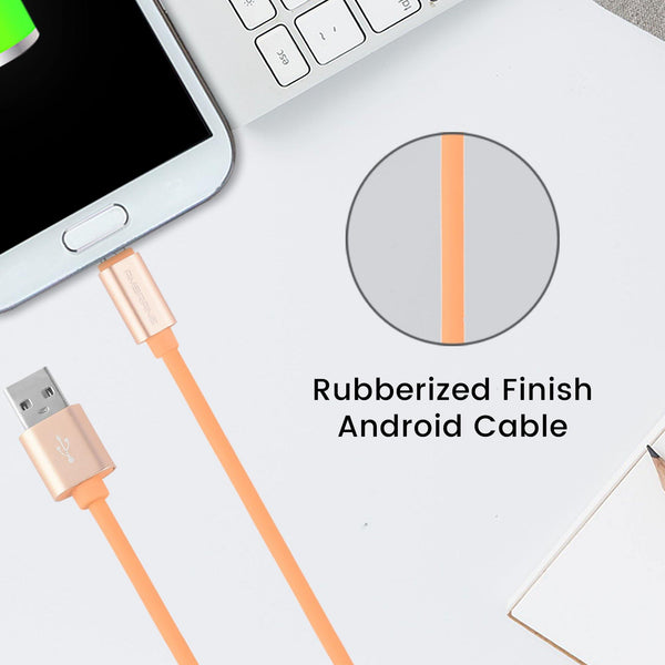 AAC-44 Rubberized Finish Charge USB cable