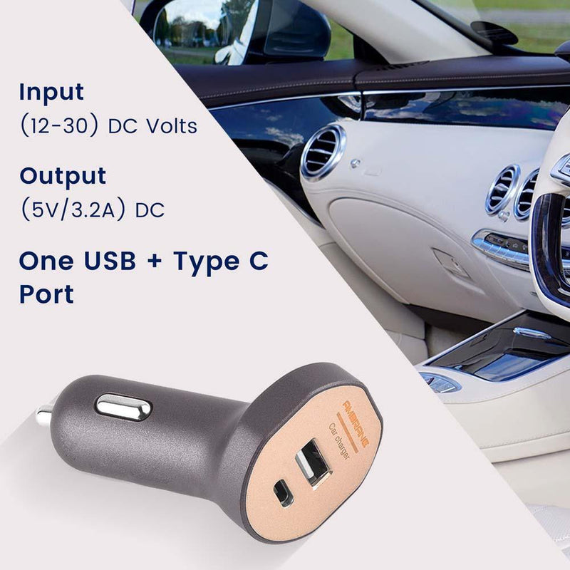 ACC-55 Dual Port Turbo Universal Car Charger