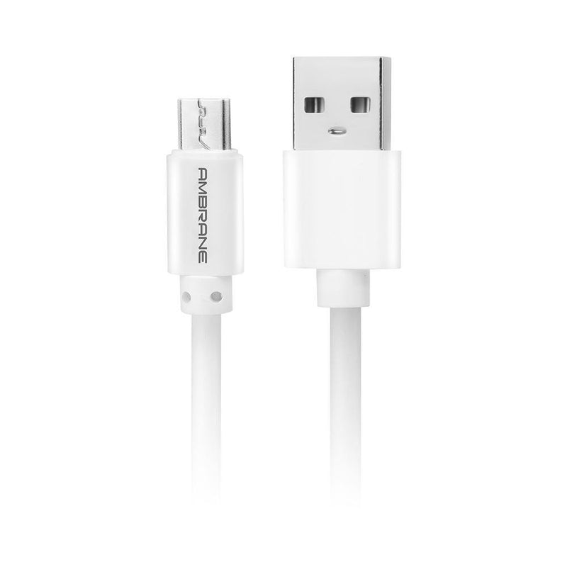 ACM-11 Micro USB Fast Charging Cable for Android Devices 1 Meter - (White)