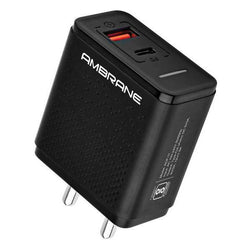 ACP-11 Quick Charge 3.0 + PD Charger Wall Charger (Black)