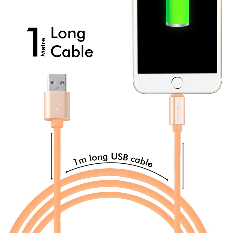 AIC-11 iPhone Lighting Cable (1M, Light Brown)