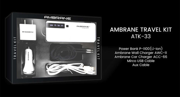 Ambrane Travel Kit ATK-33