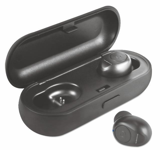 Ambrane ATW-38 True Wireless Earphones (Black)