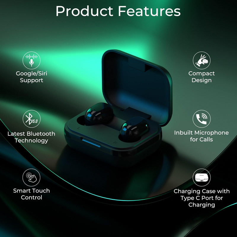Ambrane NanoBuds True Wireless Earphones - Ambrane India Pvt Ltd