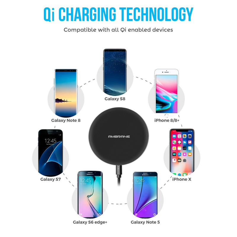 WC-11 Wireless Charger - AmbraneIndia