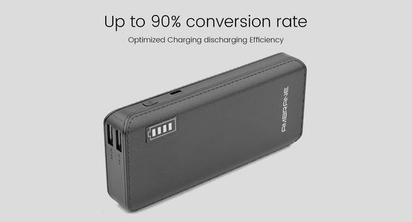 P-1133 12,500 mAh Lithium-ion Power Bank - AmbraneIndia