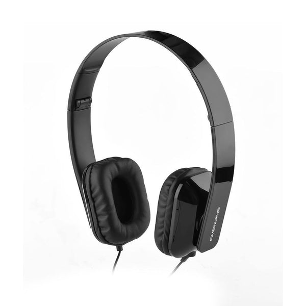 Ambrane HP-11 Wired Headphone With Mic (Black)