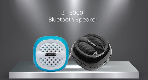 Portable Bluetooth Speaker BT-5000 Black