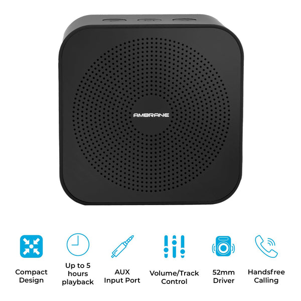 Ambrane Portable Bluetooth Speaker BT-2100 Black