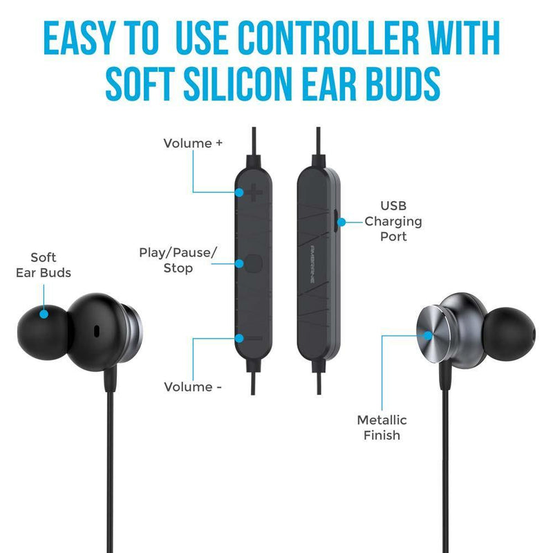 WE-50 In Ear Wireless Earphones (Grey)