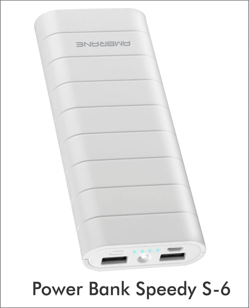 Speedy S6 15000 mAh Power Bank - AmbraneIndia