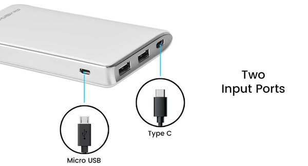 Ambrane PP-110 (10000mAh) Power Bank