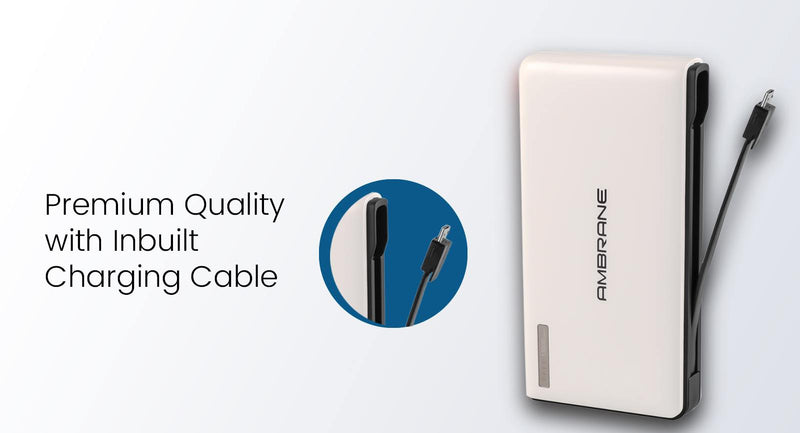Ambrane Plush PP-1500 (15000mAh)Power Bank
