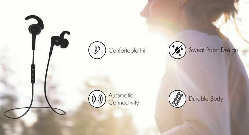 bluetooth earphones magnetic