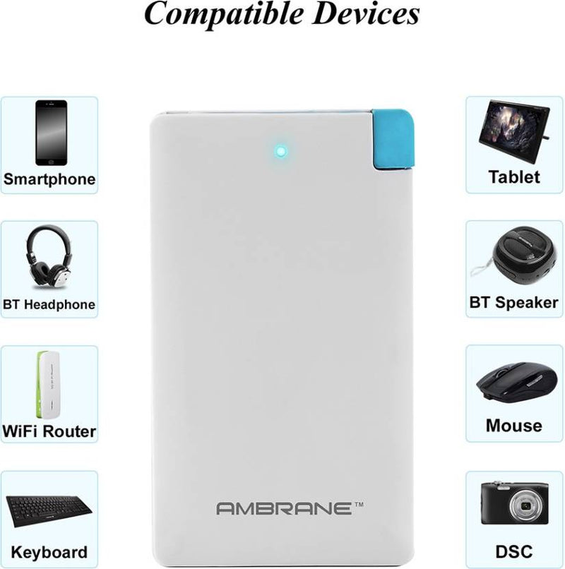 Ambrane PP-41 (4000mAh) Power Bank