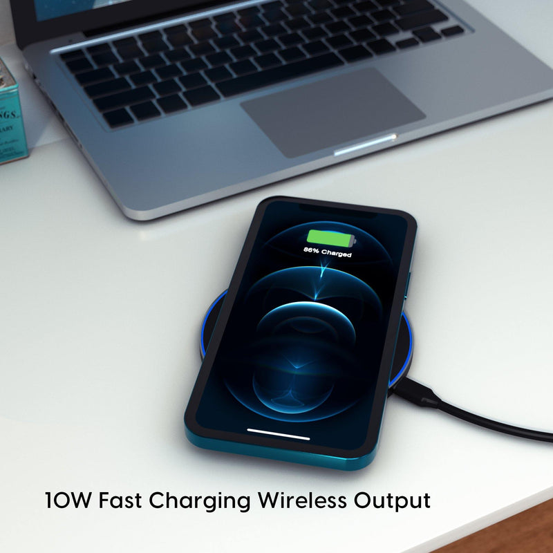 Ambrane Wireless Charger - WC-38 - AmbraneIndia