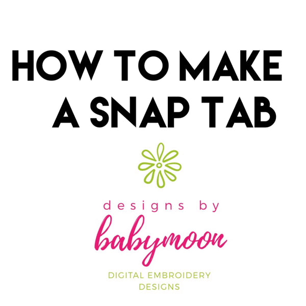 How to make a Snap Tab (Very Simple!)