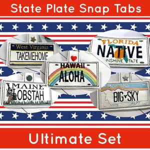 The Ultimate State Plate Design Set is on MEGA SALE!