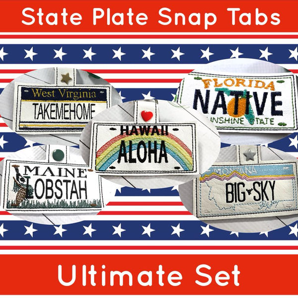 Updated Bundle for the State Plate Collection