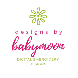 Designs by Babymoon Ridiculously Cute Embroidery Designs
