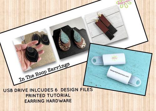 PREORDER - USB Design Set Bundle - Earring Designs