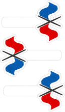 Color Guard Flags Snap Tab 4x4 and 5x7