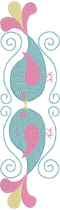 Birdie Borders Embroidery Design Set 4x4 and 5x7 sizes included